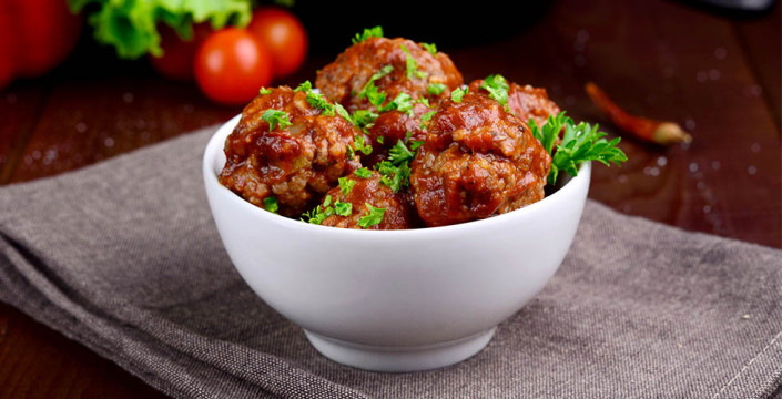 Sunnere Kjøttboller med chili