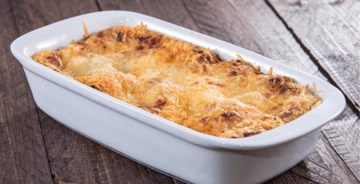 lasagne med havrelomper
