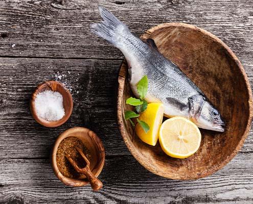 Fisk oppskrifter