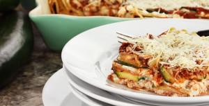 Sunn lasagne med squash