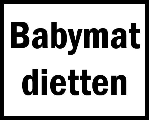 Babymatdietten