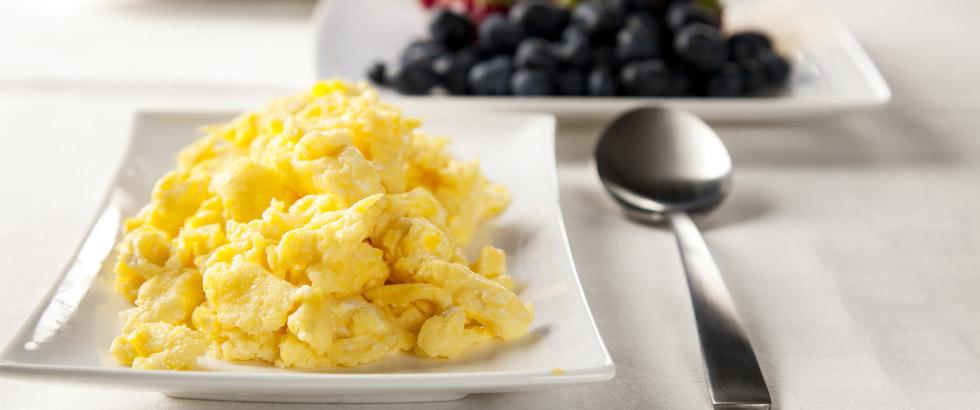 Egghakk er en eggrett perfekt som frokost og for gjester