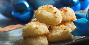 Sukkerfrie makroner med kokos
