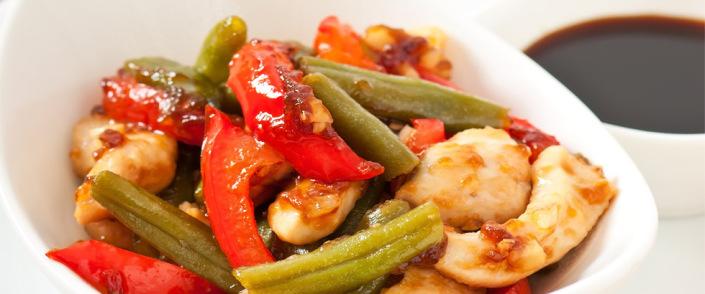 Sunnere wok med kylling