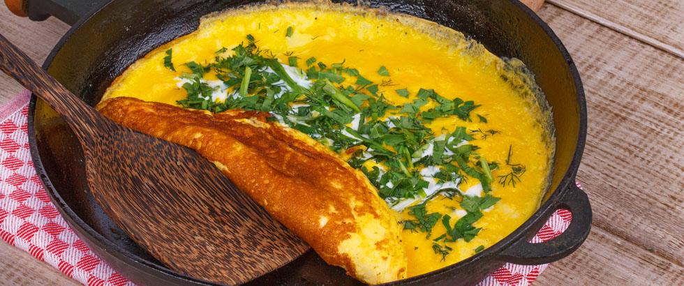 Hvordan lage omelett? Slik lager du omeletten
