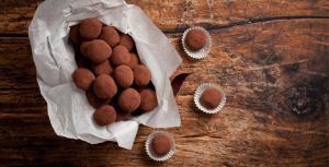 Sukkerfrie trøfler med sjokolade