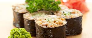 Sunn fisk med ris
