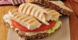 Sunnere sandwich med kylling