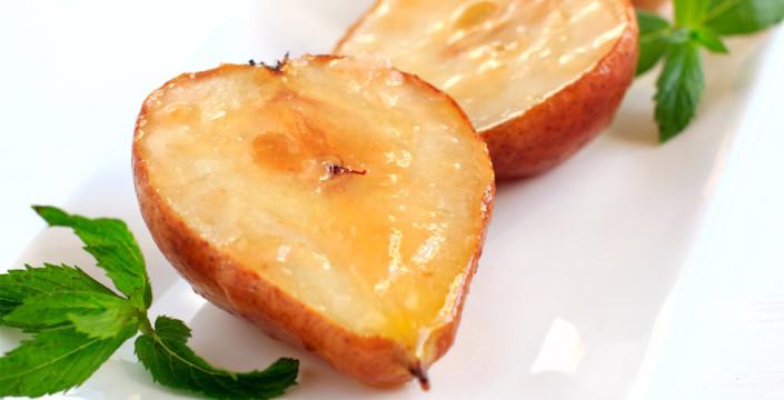 Bakte pærer