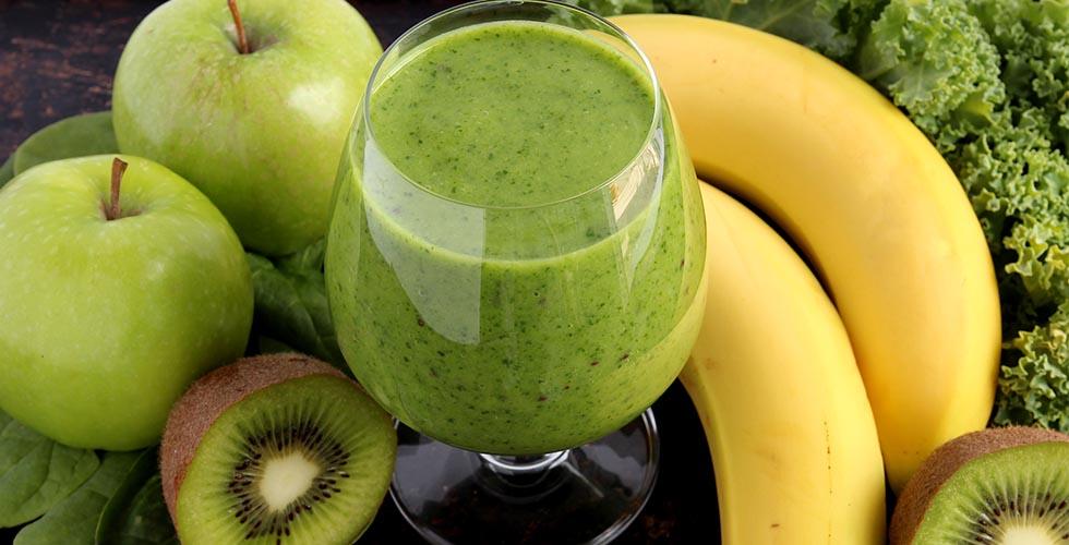 Kiwi banan smoothie